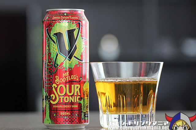 V ENERGY Mr Bootleg's Sour Tonic